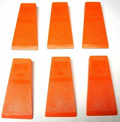 """5-1/2"""" Falling / Felling & Bucking & Chainsaw Milling Wedges (6-Pack)   H59TS(6)"""