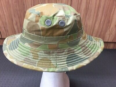 AUSCAM CAMOUFLAGE PATTERN GIGGLE / BUSH HAT  -   Size S to XL
