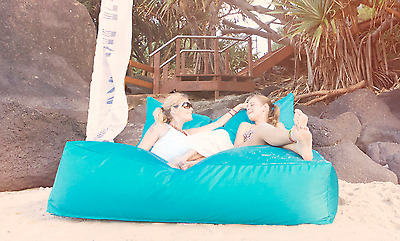 Indoor/Outdoor Bean Bag  BIG KAHUNA Strong Comfortable  Heavy Duty Polyester