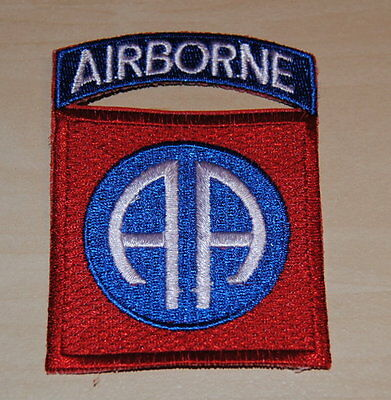 AUFNÄHER PATCH US AIRBORNE US Army 82nd Airborne Division Vietnam Uniform NEU