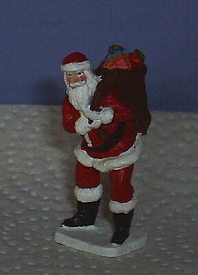 TOY SOLDIERS  CHRISTMAS SANTA WITH BAG FULL OF TOY AND GIFTS  54MM