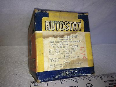 Thermostat for Ford, 1937 to 1948, NOS.   Item:  2642
