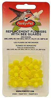 Perky-Pet 202F Replacement Yellow Feeder Flowers