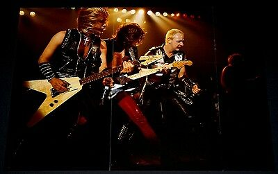 Judas Priest Rob Halford Glen Tipton Kk Downing Live In Concert Poster