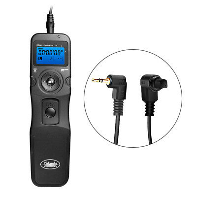 LCD Timer Timing Remote Controller Shutter Release for Canon 750D 1300D 1200D 7D