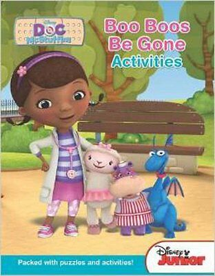 Disney Junior Doc Mcstuffins:Boo Boos be Gone Activities, DISNEY, New Book