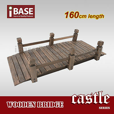 Wooden Bridge Outdoor Garden Decor Feature Decoration Vintage Timber Wood