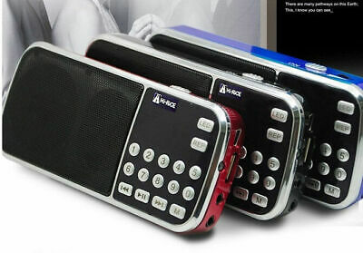 Hi-Rice SD-101 Digital FM/AM radio USB TF Mp3 Player Speaker For Elder Parents