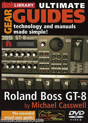Ultimative Gear Guides Roland Boss GT-8 Gitarre 2 DVD Neu