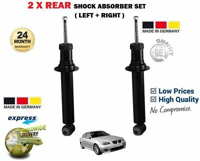 FOR BMW 5 E60 2003-2010 520 523 525 530 2x REAR SHOCKS SHOCKERS ABSORBER SET