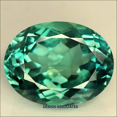 6x4 MM OVAL GREEN TOPAZ SOLD AS A 5 PC SET