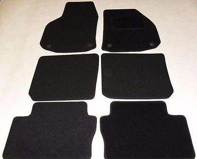 Vauxhall Zafira 2005-2012 Fully Tailored Deluxe Car Mats in Black