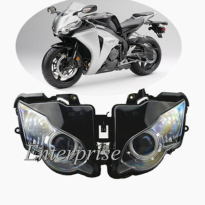 Projector Headlight Red Angel Eye HID for Honda CBR1000RR CBR1000 RR 2008-2011 #