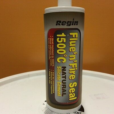 Regin - Flue & Fire Seal - Natural - Heat Stable to 1500C