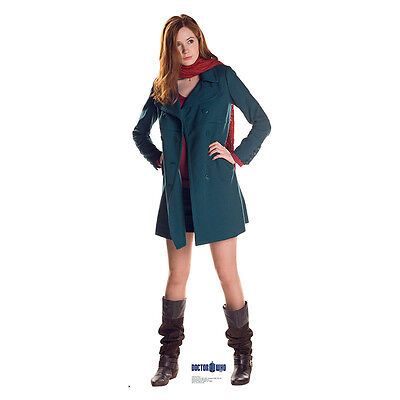 AMY POND Doctor Who Dr. Who Gillan Lifesize CARDBOARD CUTOUT Standup Standee