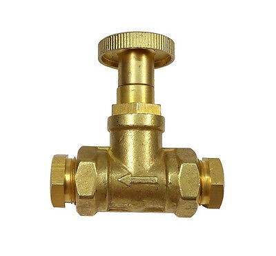 """Fire Valve for Central Heating Oil Line 10mm / 3/8"""" BSP Fusible Head"""