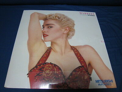 Madonna Dreams Come True Presented by MITSUBISHI Japan Promo T-Shirts Sealed