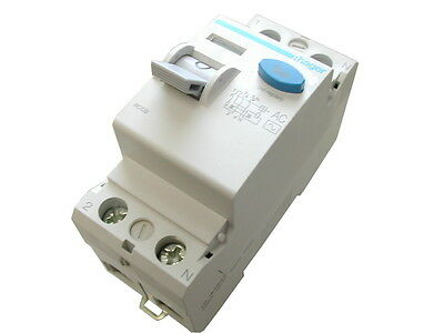 63 Amp x 100mA RCD / RCCB Earth Leakage Trip Switch