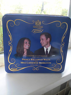 Prince William Biscuit Tin McVities Catherine Middleton Engagement 2011