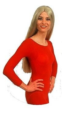 Body justaucorps rouge taille 36/40 S/M lingerie 70 deniers 842507892 spectacle