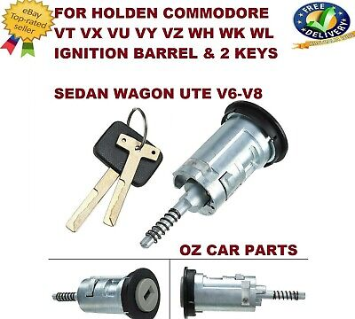 Holden Commodore VT VX VU VY VZ WH WK WL Ignition Barrel & Keys