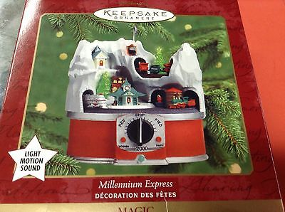 Hallmark Keepsake Ornament - 2000 - Millenium Express  - B037