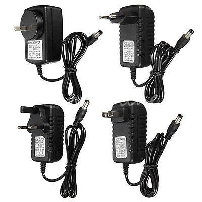 DC 12V 1A/1000mA AC Adapter Charger Power Supply For LED Strip Light CCTV Camera