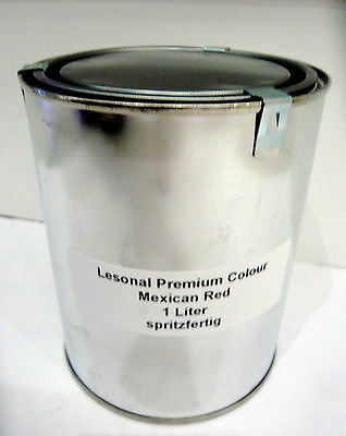 1 Liter Lesonal Premium Colours Mexican Red Effektlack