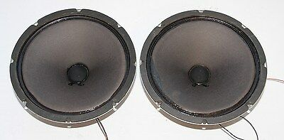 "10"" AlNiCo Woofer Fisher Speaker Pair : Good Condition !!!!!!!!!!!!!!!!!"