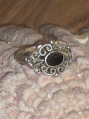 SCROLL RING  ~ Paranormal powers AND MUCH MORE~ COA Included~ Size 6 OR 7