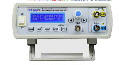 NEW 20Mhz Dual-ch DDS Function Arbitrary Waveform Signal Generator + sweep