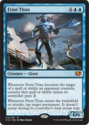 FROST TITAN Commander 2014 MTG Blue Creature — Giant Mythic Rare