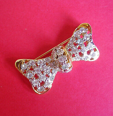 "528 /   Valentino / Broche  ""noeud"""