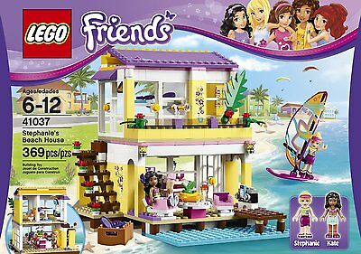 LEGO Friends Stephanie's Beach House with minifigures Fun For Kids & Adults