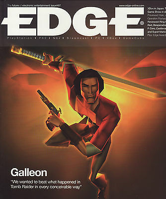 EDGE MAGAZINE issue 97 May 2001 - GALLEON cover -  console and games reviews