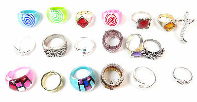 JOBLOT x200 FASHION RINGS STUNNING PIECES BRAND NEW STATEMENT