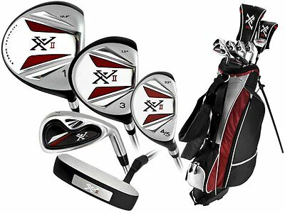 BRAND NEW! Knight Men's XVII Complete GOLF SET WITH 460CC DRIVER