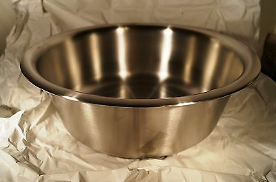 polar ware 136 9.5 qt stainless steel bowl