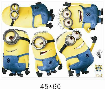 Minions Despicable Removable Wall stickers Decal Kids Decor Home Mural Art