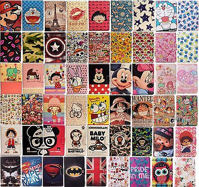 New Cartoon PU Leather Stand Cover Case For iPad 6/Air 2 5/Air 2/3/4 Mini/ 2/3st