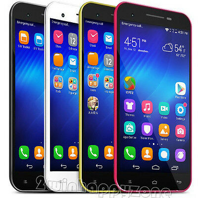 """Unlocked 4Cores 4.5"""" Android 4.4.2  AT&T/T-mobile WCDMA 3G/GSM GPS Smartphone"""