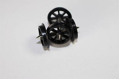 2 x New Hornby Spoked Wheel & Axle Assambly for freight wagons X8056