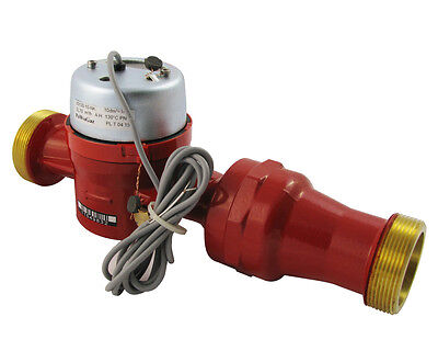 "JS130-NK 40mm 1.5"" Commercial Hot Water Flow Meter with Pulse"