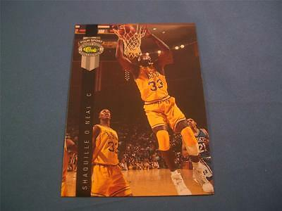 Shaquille O'Neal Classic Four Sport 1992 PROMO Promotional Card PR1