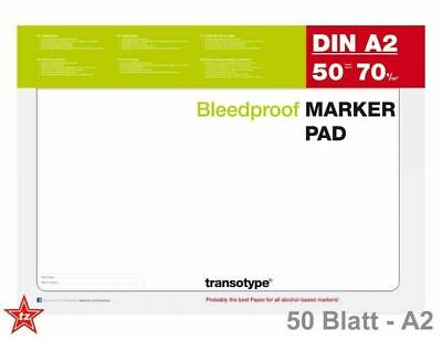 transotype Marker Pad Block Layoutblock Design | speziell für Layoutmarker | A2