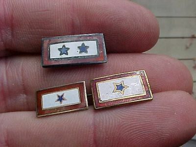 Original Wwii Son In Service Pin Lot Of 3