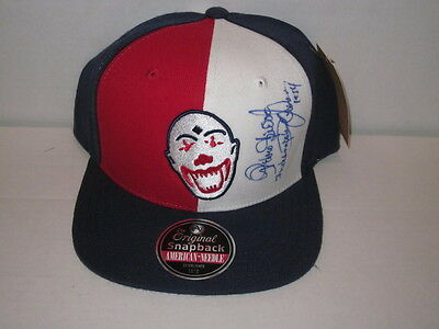 Pedro Sierra Indianapolis Clowns Signed Auto Autographed Hat JSA