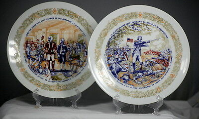 Limoges Collectible Plates D'Areceau Lafayette Legacy Collection