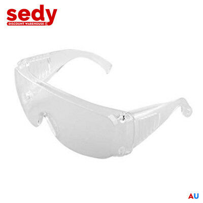 Wide Vision Welding Utility Safety Goggles Glass Lens Protector Glasses