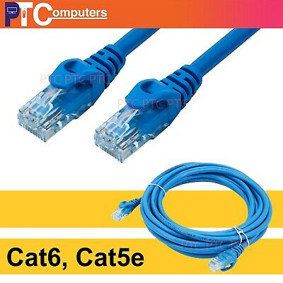 0.5m 1m 2m 3m 5m 10m Cat6 Cat5e RJ45 Ethernet LAN Network Data Cable Patch Cord